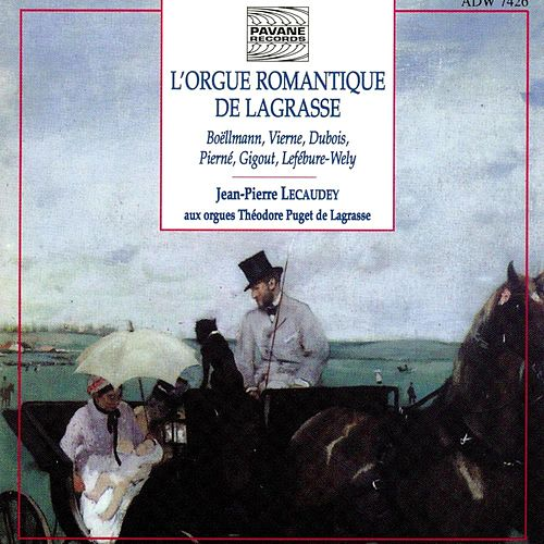L'orgue romantique de Lagrasse by Jean-Pierre Lecaudey