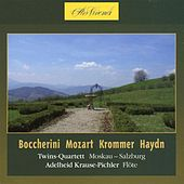 Boccherini, Mozart, Krommer, Haydn: Twins -Quartett Moskau-Salzburg by Various Artists