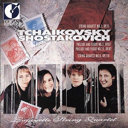 Tchaikovsky, P.I.: String Quartet No. 1 / Shostakovich, D.: String Quartet No. 8 by Lafayette String Quartet