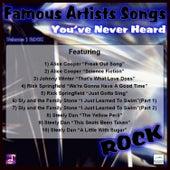 Famous Artists Songs You've Never Heard Rock, Vol. 1 von Various Artists