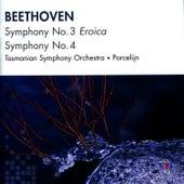 Beethoven: Symphony No. 3, Symphony No. 4 by Tasmanian Symphony Orchestra