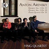 Arensky: String Quartets Nos. 1 & 2 - Piano Quintet by Various Artists