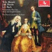 Mozart: Oboe Quartet - Haydn: Divertimento - J.C. Bach: Oboe Quartet by Alessandro Baccini