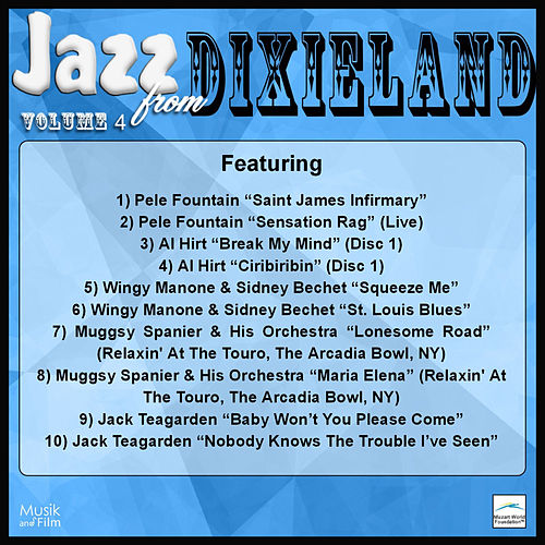 Jazz from Dixieland, Vol. 4 by Various Artists