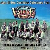 Pura Banda Tocada Compa Vol.V by Banda El Valle