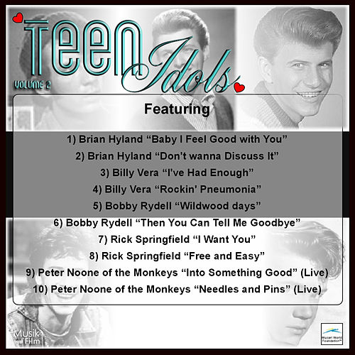 Teen Idols, Vol.2 by Various Artists