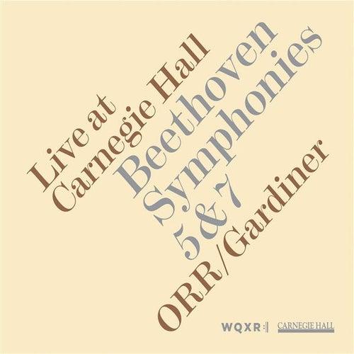 Beethoven: Symphonies Nos. 5 & 7 by Orchestre Revolutionnaire et Romantique