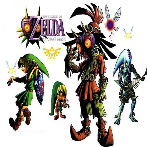 The Legend of Zelda - Majoras Mask (Mastered) (Select Soundtrack) by Monsalve