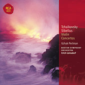 Tchaikovsky & Sibelius Violin Concertos: Classic Library Series by Itzhak Perlman