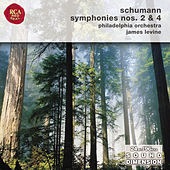 Schumann: Symphonies Nos. 2 & 4 by James Levine