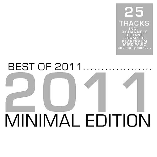 Best of 2011 - Minimal by Various Artists
