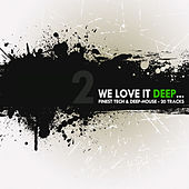 We Love It Deep - Finest Tech & Deep-House Vol. 2 by Various Artists