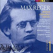 Reger: Piano Chamber Music, Vol. 1 by Renate Eggebrecht