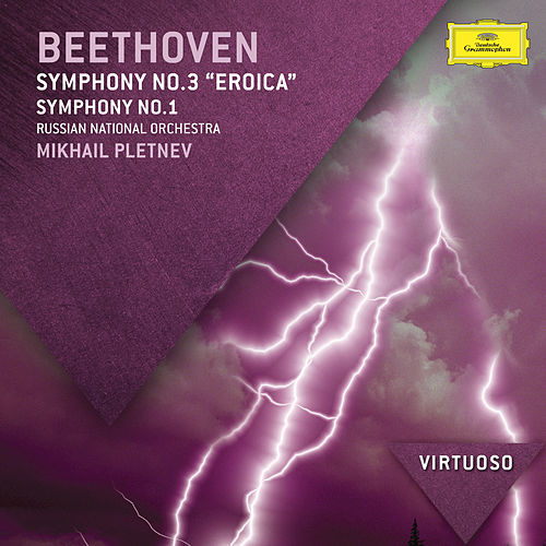Beethoven: Symphony No.3 - 'Eroica'; Symphony No.1 by Russian National Orchestra