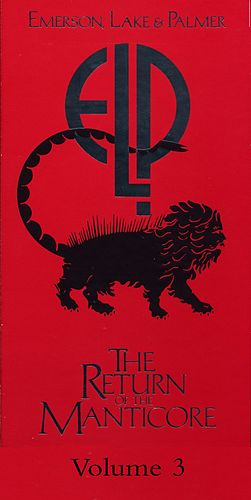 The Return Of The Manticore, Vol. 3 by Emerson, Lake & Palmer