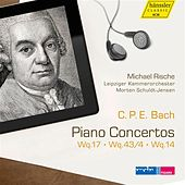 Bach: Piano Concertos, Wq. 17, 43/4 & 14 by Michael Rische