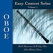 Easy Contest Solos, Vol. 1: Oboe by Heidi C. Huseman-Dewally