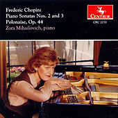 Piano Sonatas Nos. 2 and 3 / Polonaise, Op. 44 by Frederic Chopin