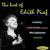 The Best of Edith Piaf, Vol. 2 by Edith Piaf