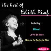 The Best of Edith Piaf, Vol. 1 by Edith Piaf
