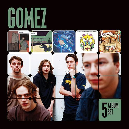 5 Album Set (Bring It On/Liquid Skin/In Our Gun/Split the Difference/Five Men in a Hut) by Gomez