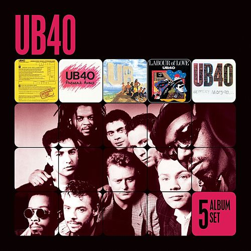 5 Album Set (Signing Off/Present Arms/UB44/Labour of Love/Geffery Morgan) von UB40