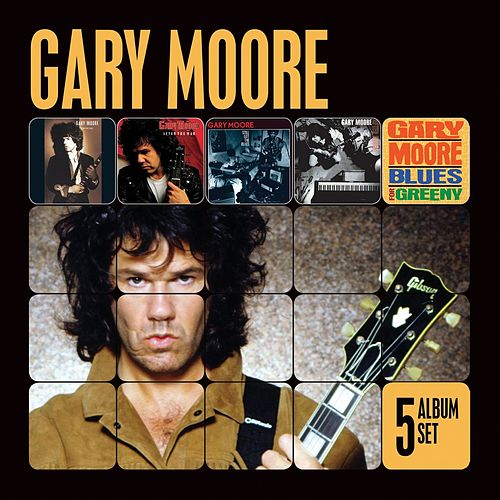 5 Album Set (Remastered) (Run for Cover/After the War/Still Got the Blues/After Hours/Blues for Greeny) by Gary Moore