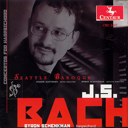 Concertos for Harpsichord by Johann Sebastian Bach
