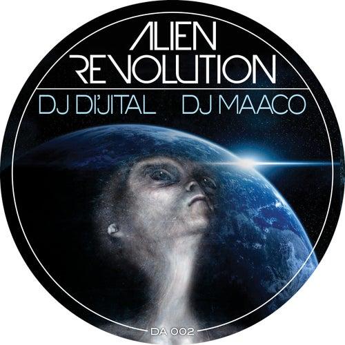 Aliens Revolution EP by DJ Dijital