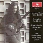 Coste, N.: Souvenirs / Recreation Du Guitariste by John Schneiderman