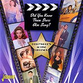 Did You Know These Stars Also Sang? (Hollywood's Acting Legends) von Various Artists