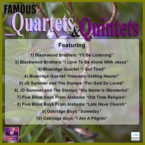 Famous Quartets and Quintets, Vol. 5 by Various Artists