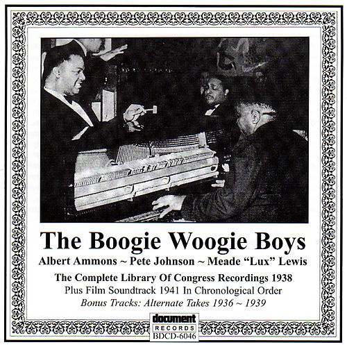 The Boogie Woogie Boys by Various Artists