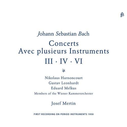 Bach: Brandenburg Concertos Nos. 3, 4 & 6 by Nikolaus Harnoncourt
