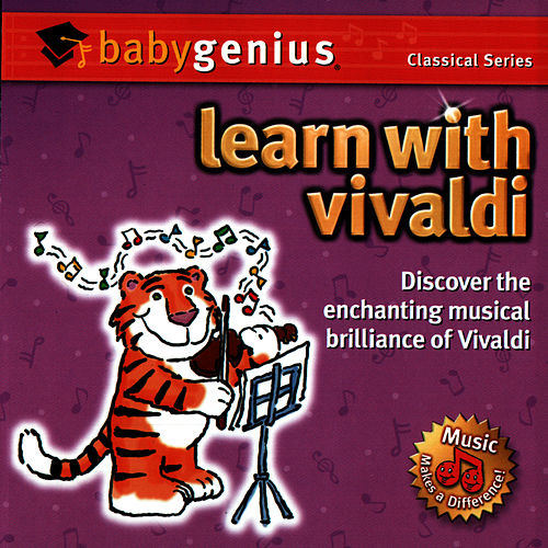 Learn With Vivaldi by Baby Genius