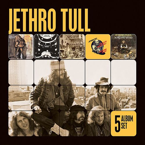 5 Album Set by Jethro Tull