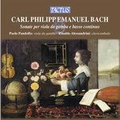 Bach: Sonate per Viola da Gamba e Basso Continuo by Paolo Pandolfo