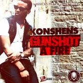 Gun Shot a Fire - Single by Konshens