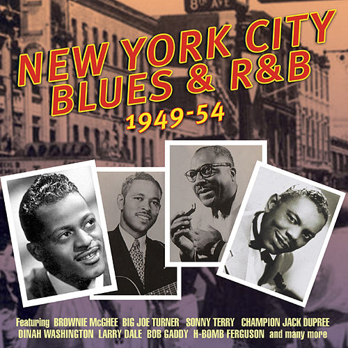 New York City Blues & R&B 1949-54 by Various Artists
