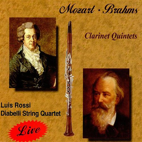 Mozart, Brahms Clarinet Quintets by Luis Rossi