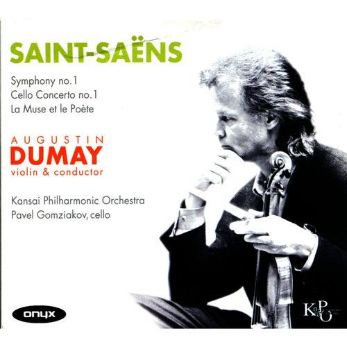 Saint-Saëns: Symphony No. 1, Concertos by Augustin Dumay