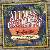 American University 12/13/70 by The Allman Brothers Band