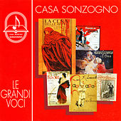 Casa Musicale Sonzogno - Le grandi voci by Various Artists