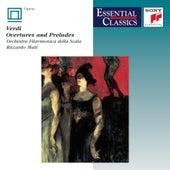 Verdi:  Overtures & Preludes by Riccardo Muti