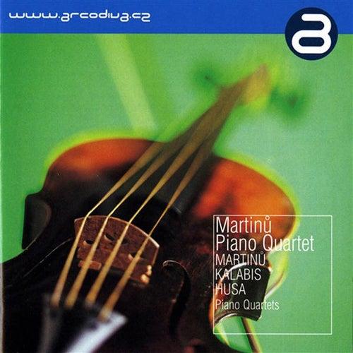 Martinu - Kalabis - Husa by Martinu Piano Quartet