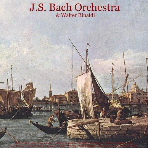 Bach: Violin Concerto No. 1 & Air - Vivaldi: Concertos - Pachelbel: Canon in D - Albinoni: Adagio - Listz: Love Dream - Sinding: Rustle of Spring - Chopin: Waltzes - Walter Rinaldi: Piano Concerto & Orchestral Works by Johann Sebastian Bach