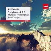 Beethoven: Symphonies 7 & 8 by Rudolf Kempe