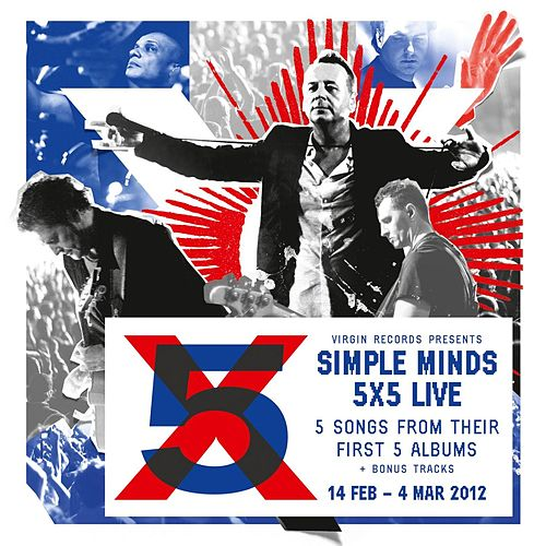 5x5 Live by Simple Minds