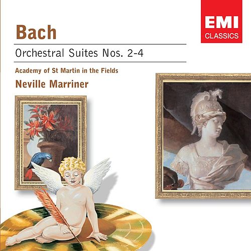 Orchestral Suites Nos. 2-4 by Johann Sebastian Bach