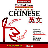 Vocabulearn Mandarin Chinese/English Level 3 by Inc. Penton Overseas